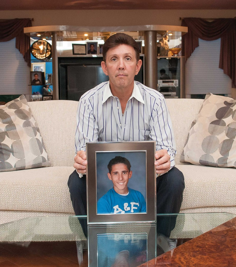 Gregg Wolfe lost his son Justin to a heroin overdose
